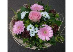 Bouquet cisal blanc et rose