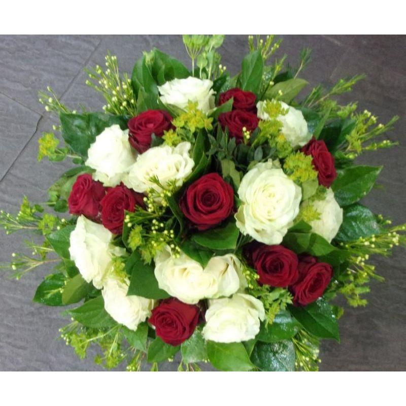 Livraison de fleurs reims bouquet rond de roses for Livraison rose