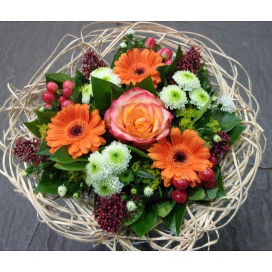 Bouquet cisal orange