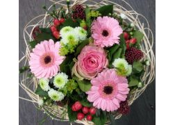 Bouquet cisal rose