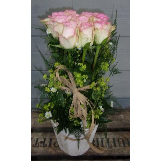 Fuseau de roses